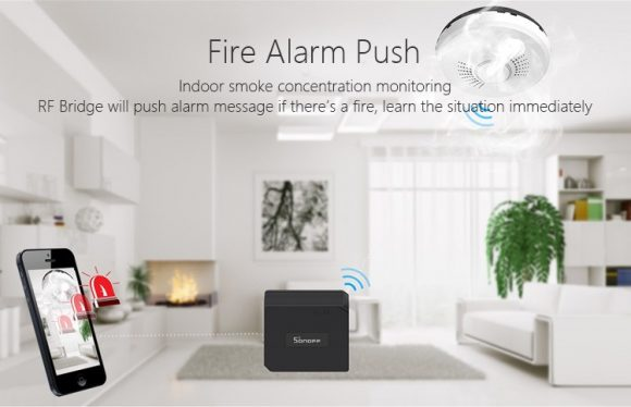 RF Bridge fire alarm push, Smart Alarm Solution