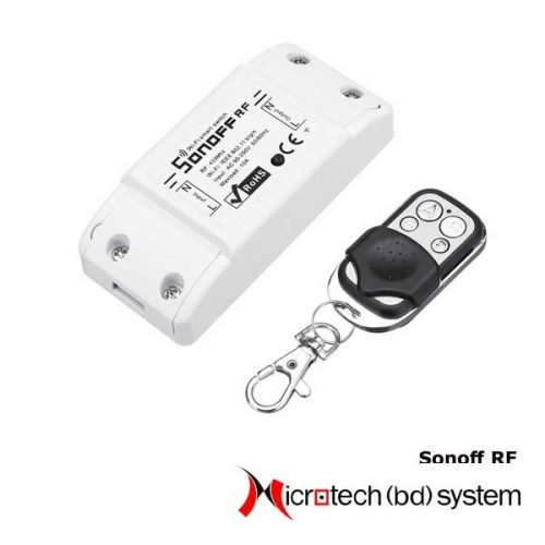 Sonoff RF with 433mhz Remote Control