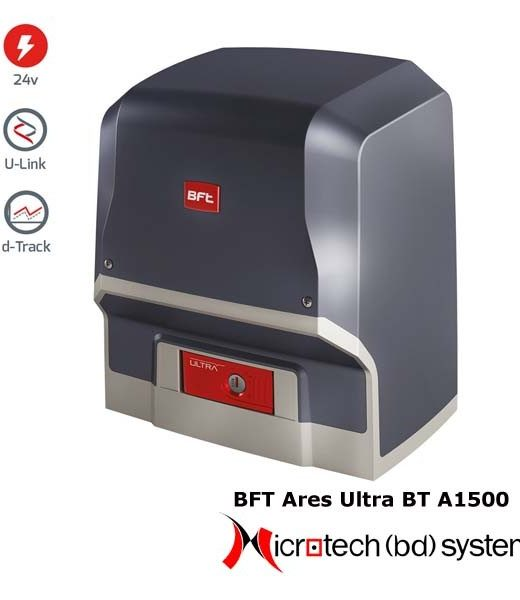 Ares Ultra BT A1500 Series BFT AUTOMATIC SLIDING GATE