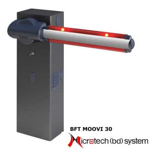 BFT AUTOMATIC PARKING BARRIER: MOOVI 30 BD