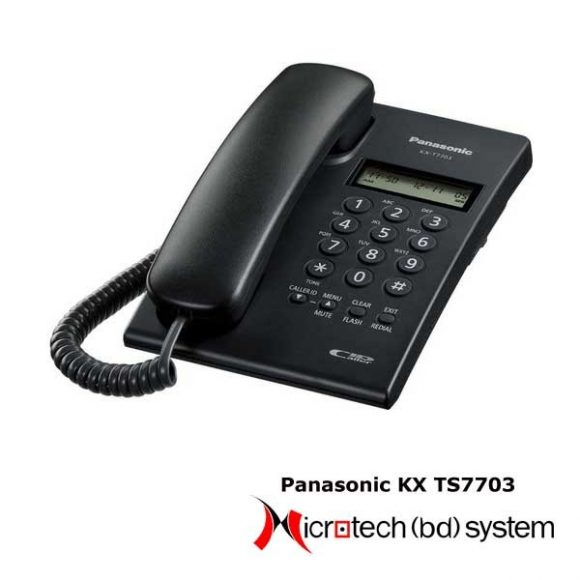 Panasonic Analog Telephone set KX-TS7703