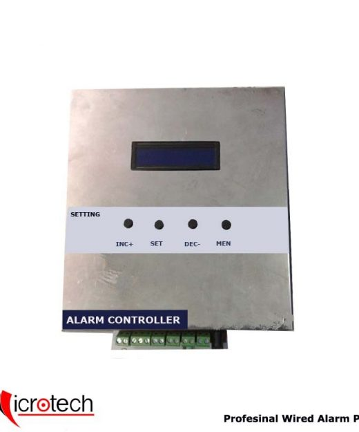 Professional 8 Zone Wired Alarm Panel For Security Monitoring..