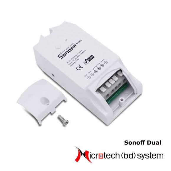 Sonoff Dual 2CH Wifi Smart Switch