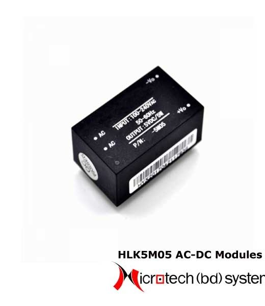HLK5M12 AC-DC Isolated Power Supply Module at best price bd